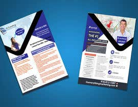 #8 for Design a Flyer, front and back by chirananimesh6