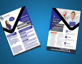#13 for Design a Flyer, front and back by chirananimesh6