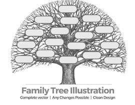 minimalwork tarafından Hand drawn family tree için no 8