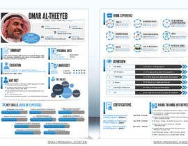 #41 for design a professional infogrpahic CV by FantasyZone
