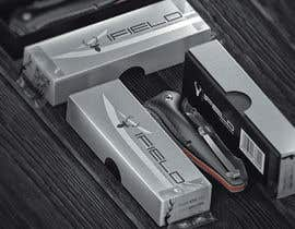 Nro 40 kilpailuun CREAT PRINTABLE PACKAGING DESING FOR TACTICAL AND HUNTING KNIVES käyttäjältä amelnich