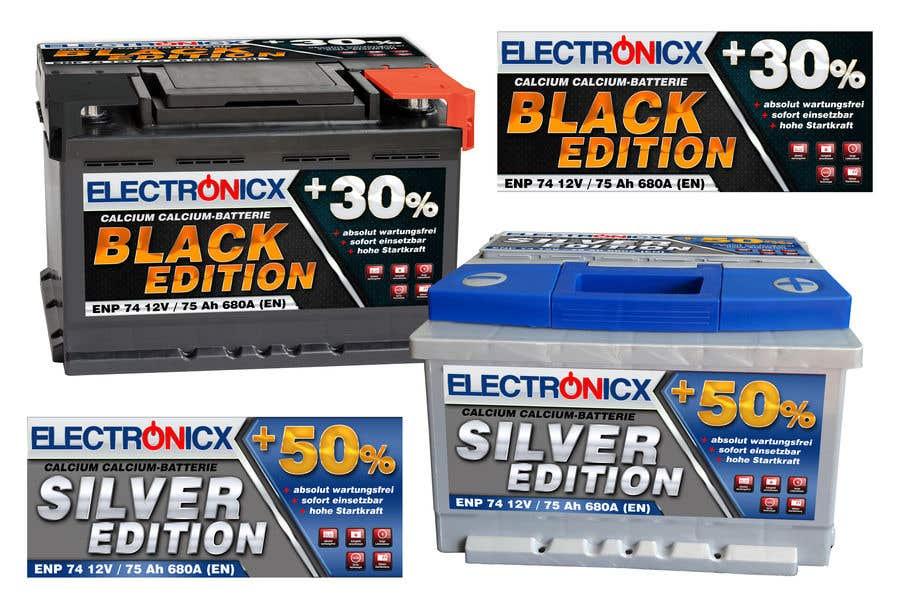 Penyertaan Peraduan #132 untuk Car Battery Design