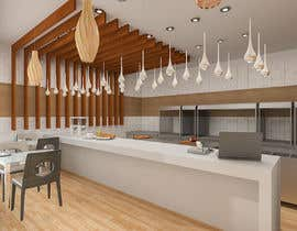 nº 6 pour service area for a restaurant interior design par YasharLuxuryArt