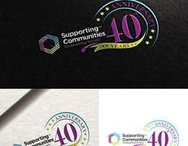 #37 untuk Logo Design - 40th Anniversary version oleh fourtunedesign