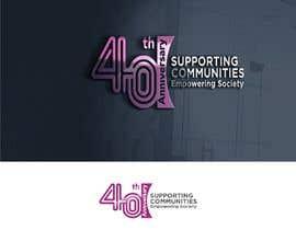 #78 untuk Logo Design - 40th Anniversary version oleh AmanGraphic