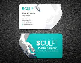 #87 para Business cards for a plastic surgeon's practice por ershad0505
