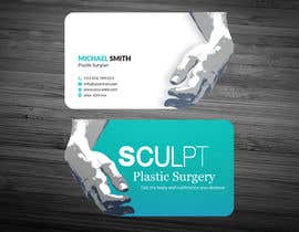 #105 para Business cards for a plastic surgeon's practice por ershad0505