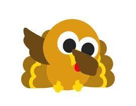 Nro 27 kilpailuun Design a dabbing Turkey color vector image for a cookie cutter käyttäjältä Savioperera