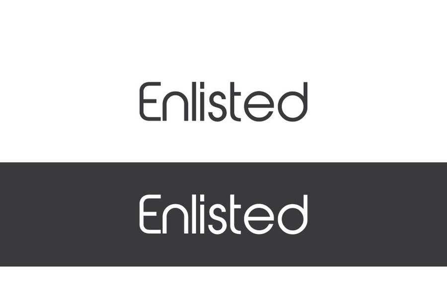 Inscrição nº 107 do Concurso para Custom Cursive fashion font for logo