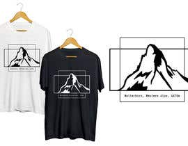 #94 for Design a Mountain T-shirt by Attebasile