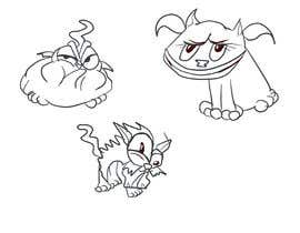 #201 for Draw 3 funny cartoon animals by Voczoro