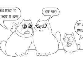 #39 for Draw 3 funny cartoon animals by CiroDavid