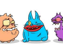 #160 for Draw 3 funny cartoon animals by CiroDavid