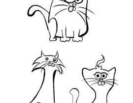 #37 for Draw 3 funny cartoon animals by burupya