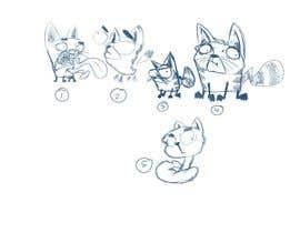 #36 for Draw 3 funny cartoon animals af ToaMota
