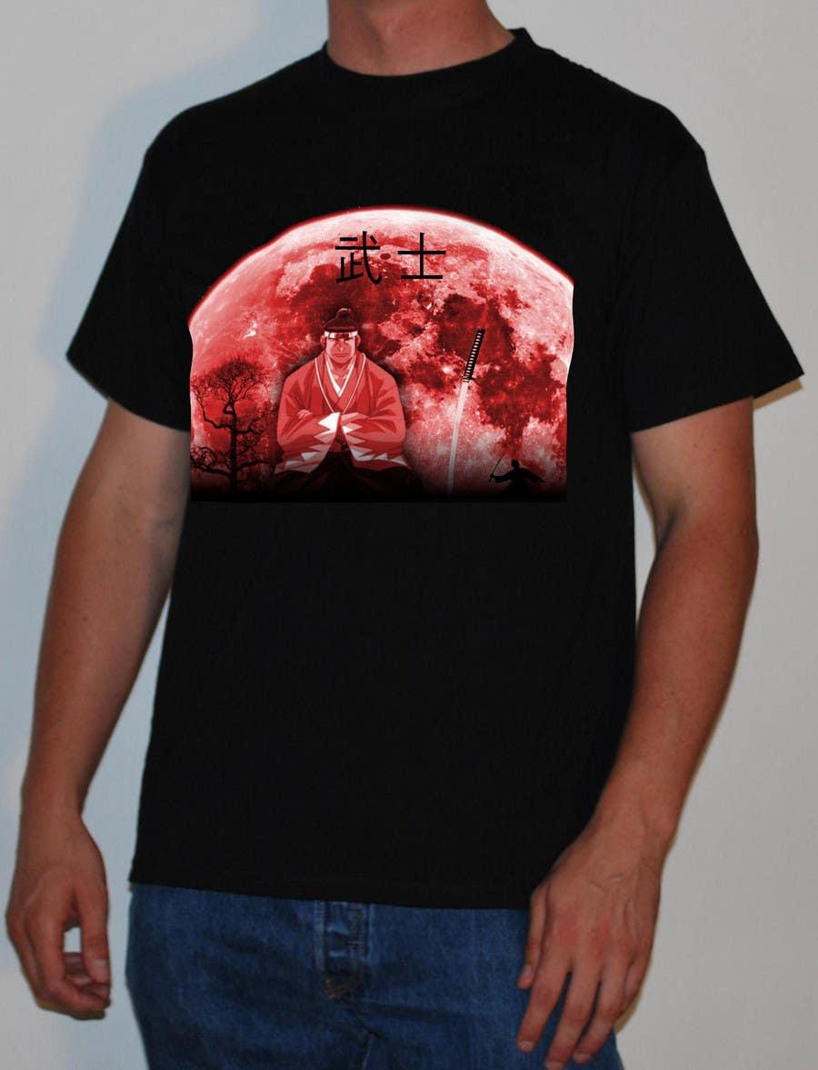 Contest Entry #                                        4                                      for                                         Samurai T-shirt Design for Cripplejitsu