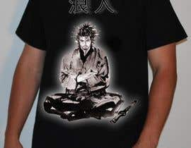 nº 41 pour Samurai T-shirt Design for Cripplejitsu par lvan
