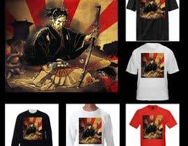nº 9 pour Samurai T-shirt Design for Cripplejitsu par paulaxl