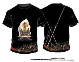 nº 30 pour Samurai T-shirt Design for Cripplejitsu par daemul
