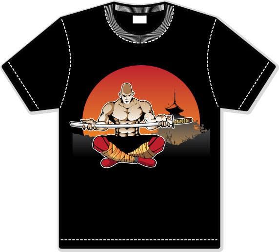 Inscrição nº                                         19                                      do Concurso para                                         Samurai T-shirt Design for Cripplejitsu