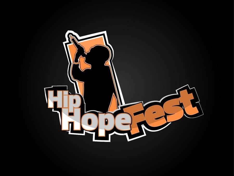 #46 for Logo Update for Hip Hope Fest by hatterwolf