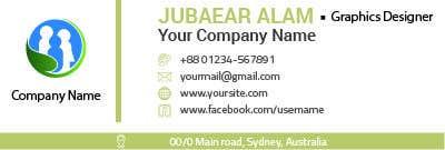 Kilpailutyö #2 kilpailussa Email signature design