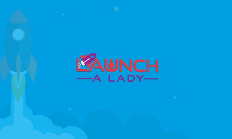 Kilpailutyö #25 kilpailussa logo for launch a lady