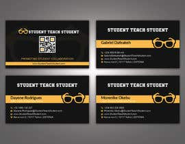 #69 for Design Three (3) Business Cards for StudentTeachstudent.com Partners by patitbiswas