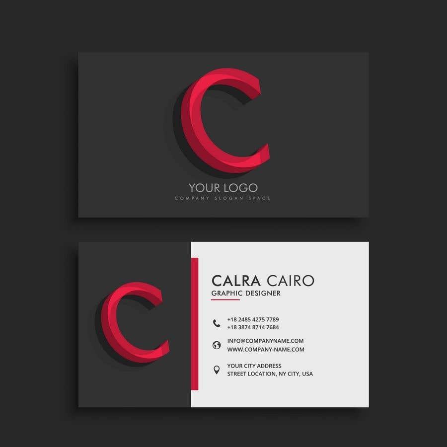 Konkurrenceindlæg #7 for Design a Business Card