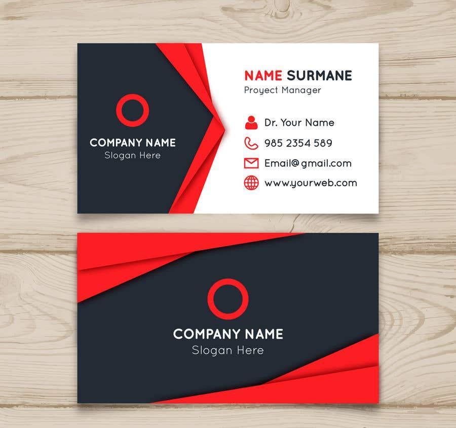 Penyertaan Peraduan #98 untuk Design a Business Card