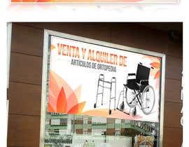 #15 para Diseñar un vinilo para escaparate de una farmacia -ortopedia de rusbelyscastillo