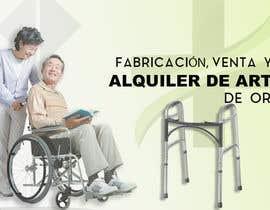 #11 para Diseñar un vinilo para escaparate de una farmacia -ortopedia de leidymarbo
