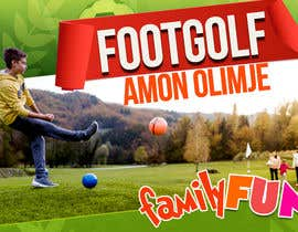 #92 for Footgolf banner by Darknesq