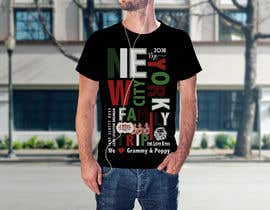 nº 21 pour Need fun T-shirt design - Family trip to NYC par SalmaHB95