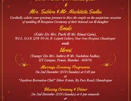 #7 für Build me a E-Wedding Card von SaxenaKuldeep