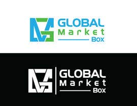 #10 for I need a logo designed for Global Market Box in black and white, thin clean font, maybe including the compass shape and globe. Not too busy. (Photo attached is just an idea to incorporate.) af shakilhd99