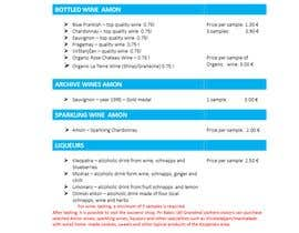 #11 para Redesing pricelist in Microsoft Word Office por Tawhid898