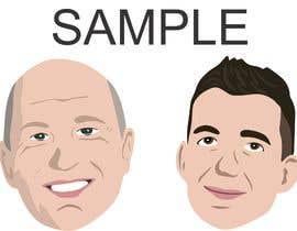 #13 для Draw caricatures of 8 heads, to put on a company Christmas card від evillegas04