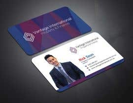 #4 for Build a fresh and modern namecard that is consistent with companies' Logo by tanveermh