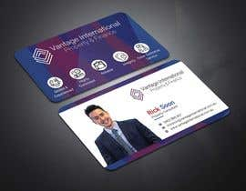 #6 for Build a fresh and modern namecard that is consistent with companies' Logo by tanveermh