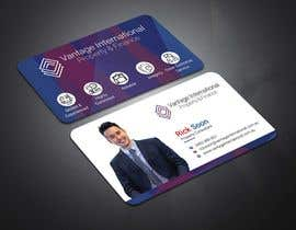 #7 for Build a fresh and modern namecard that is consistent with companies' Logo af tanveermh