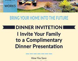 #35 for Create a Leave-behind/Dinner Invitation for potential solar customers af omarfaruk72571