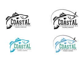 #150 para Coastal Connections Fishing Charters - New Custom Logo Contest por milanchakraborty