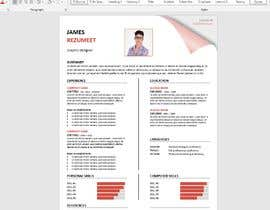 nº 7 pour Design Marriage Bio data Docx [Only for creative designers, no need to code ] par graphicshero