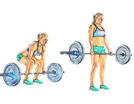 Nro 6 kilpailuun Exercise Drawings käyttäjältä arunihathur