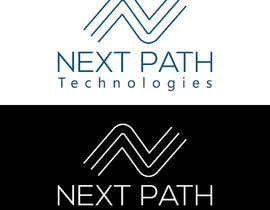 "#98 untuk ""Next Path Technologies"" Logo Design oleh learningspace24"