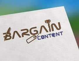 #4 za Logo design for BargainContent.com od Anaz200