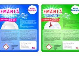 #12 para New design for labels por dinanassim22