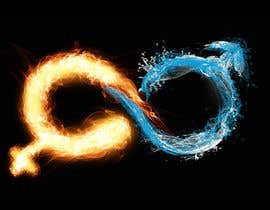 #33 for Design a Logo with realistic looking fire and water af diaco80