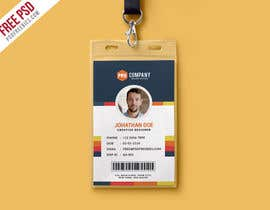 #11 for Create an ID template for employees by nobelbayazidahme